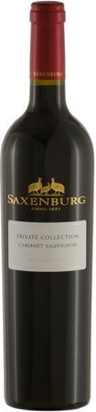Saxenburg - Private Collection Cabernet Sauvignon * 2015