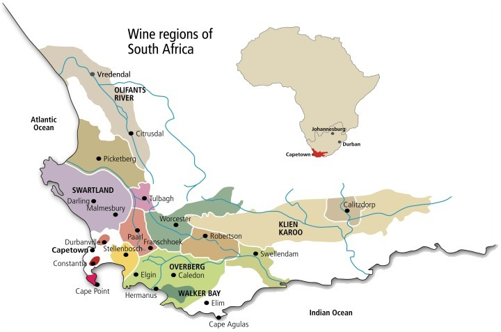 South_Africa_Map_Wine_Regions